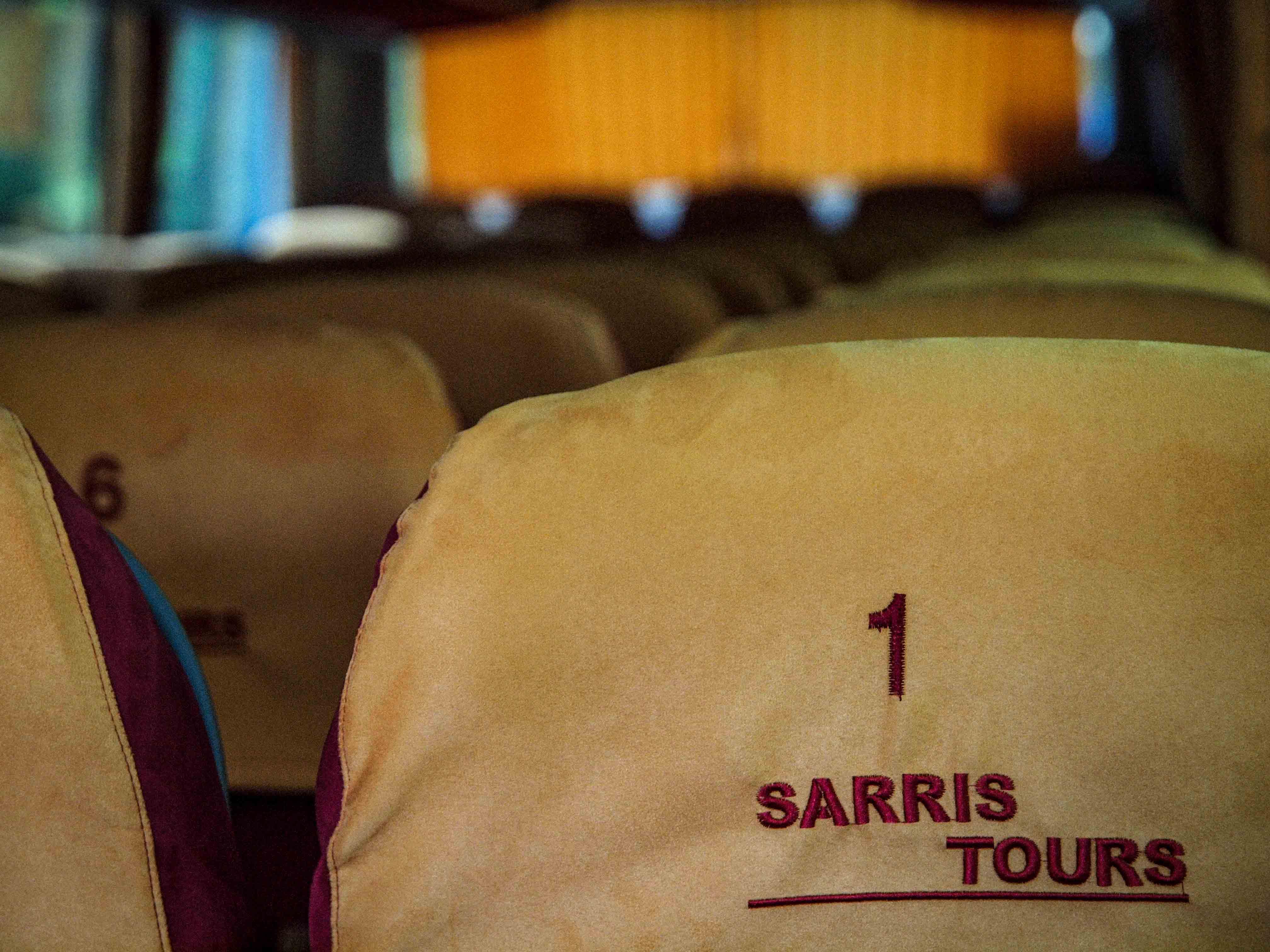 Sarris tours ενοικιάσεις πούλμαν